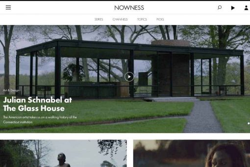 site web nowness