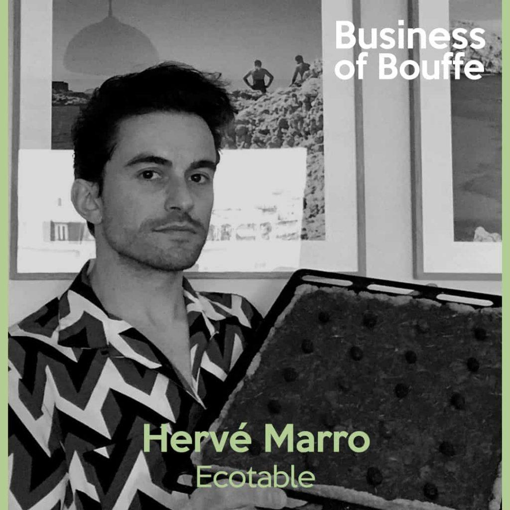 Hervé Marron Ecotable