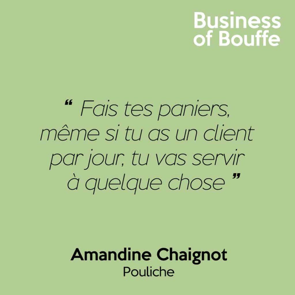 Amandine Chaignot Pouliche