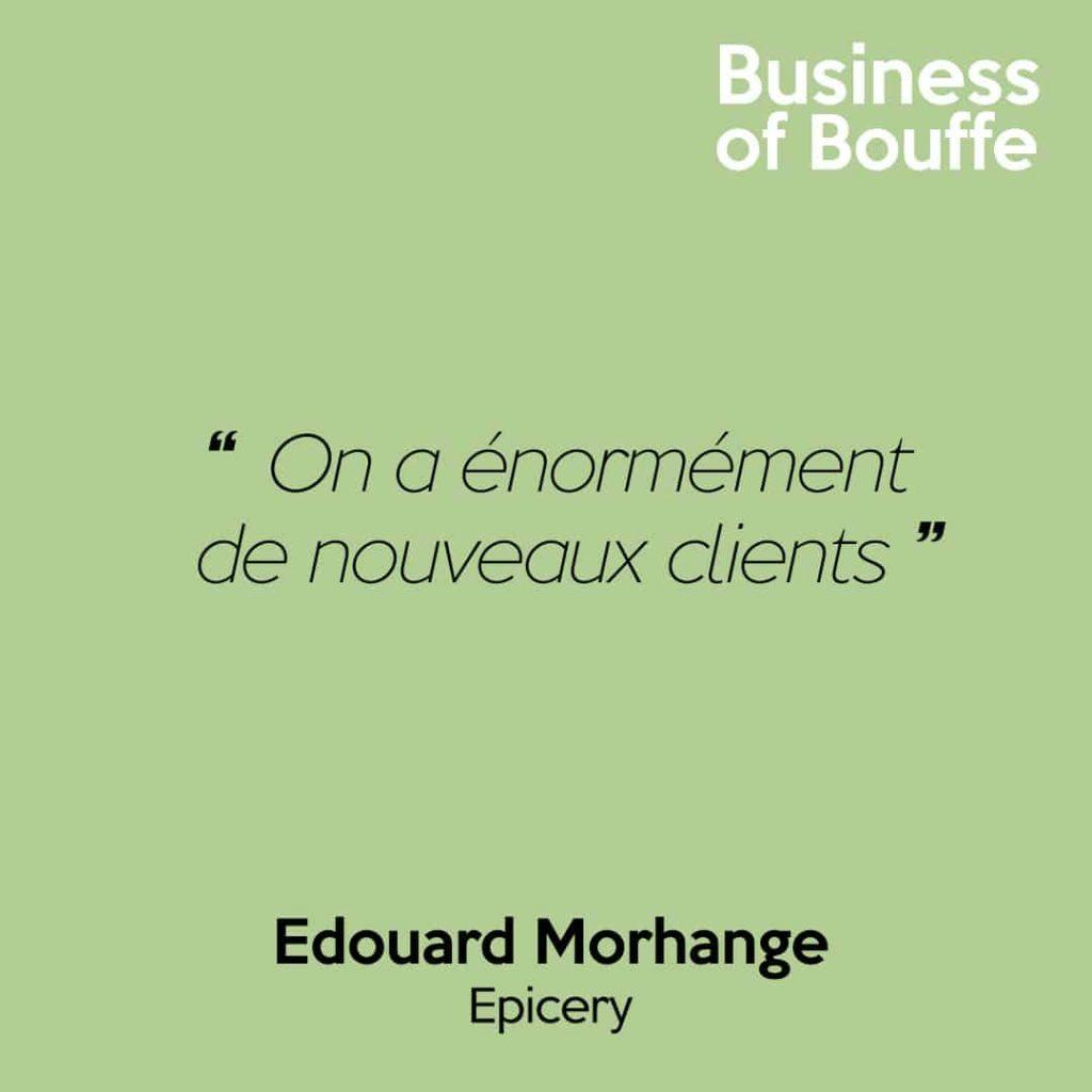 Edouard Morhange Epicery