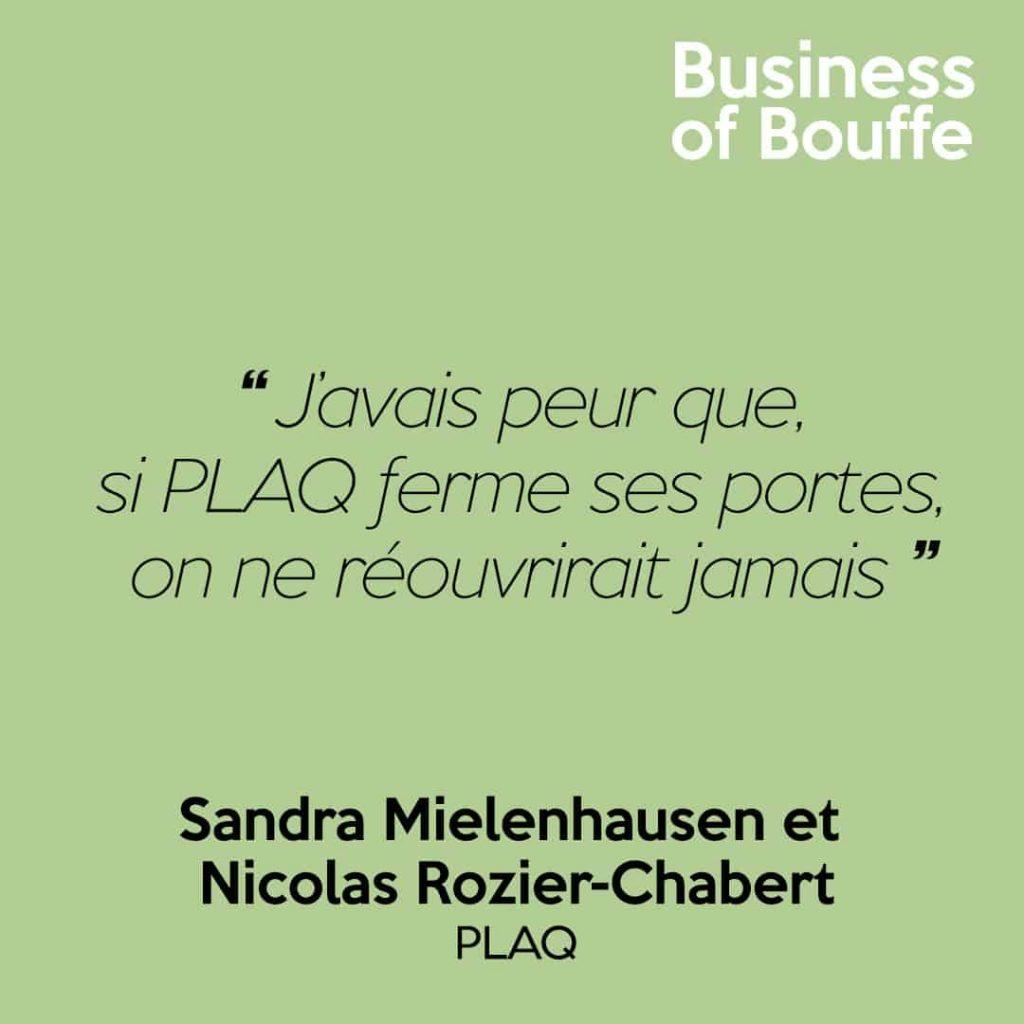 Sandra Mielenhausen Nicolas Rozier-Chaber Plaq