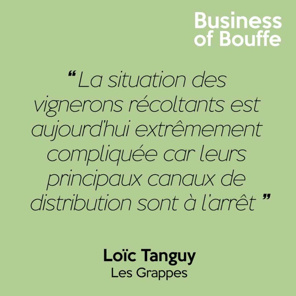 Loïc Tanguy Les Grappes