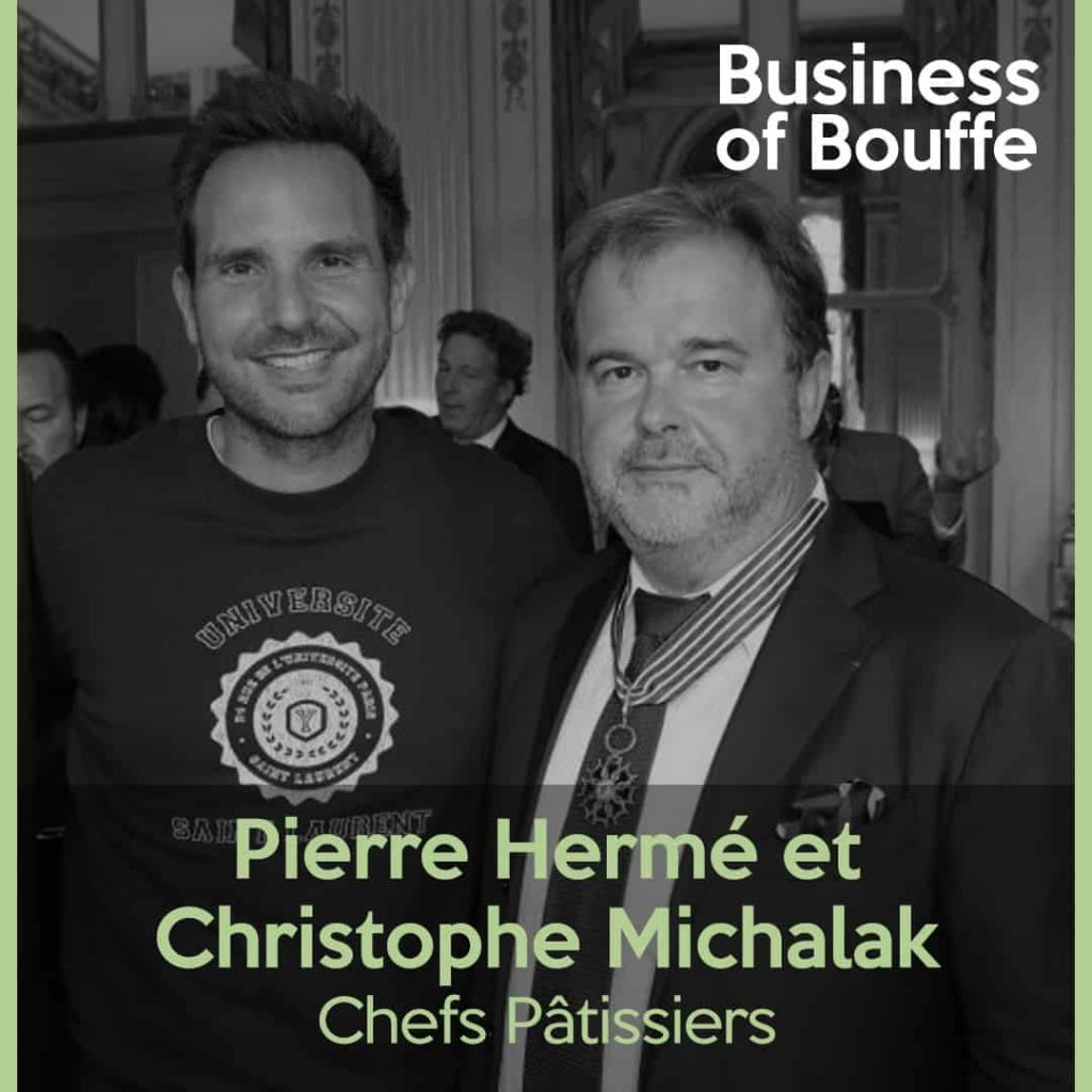 Pierre Hermé Christophe Michalak