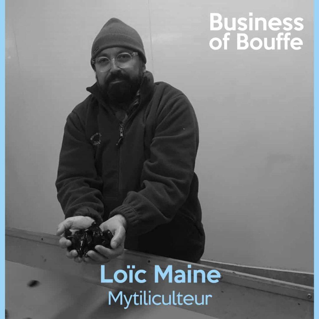 Loïc Maine Mytiliculteur Moules de Bouchot