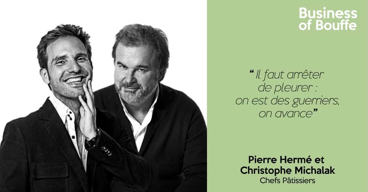 Pierre Hermé et Christophe Michalak