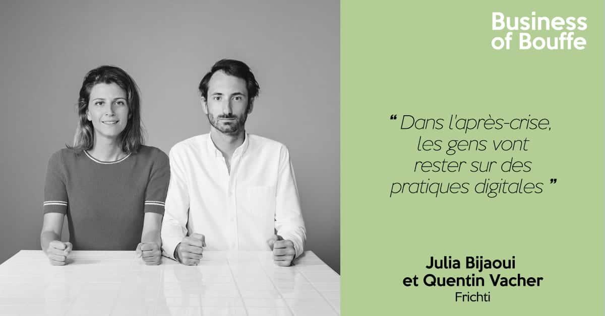 Julia Bijaoui et Quentin Vacher