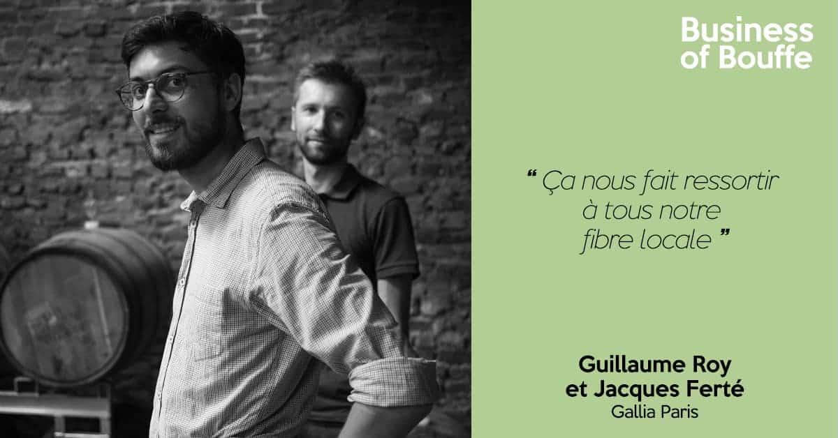 Guillaume Roy et Jacques Ferté