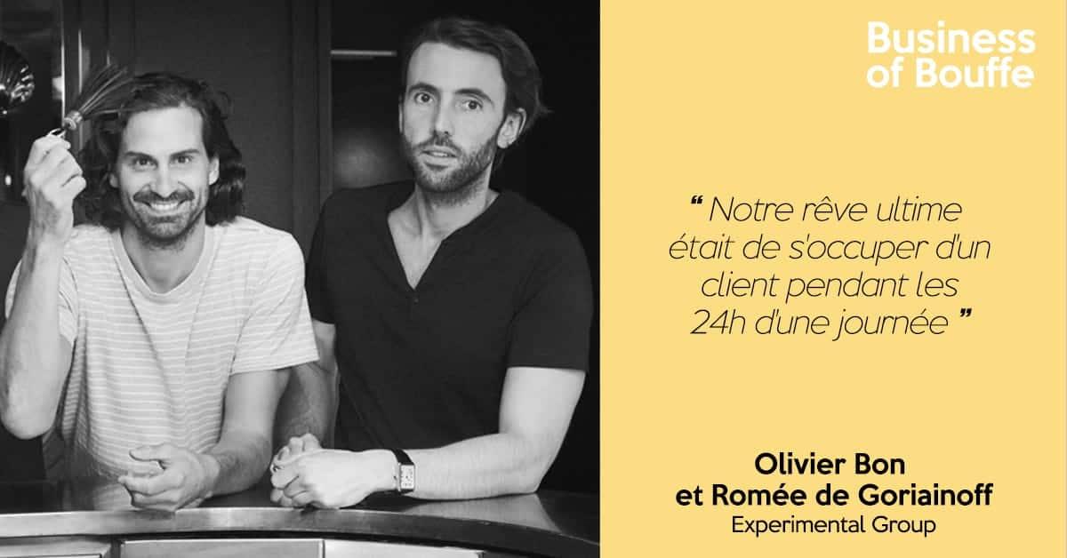 Olivier Bon et Romée de Goriainoff