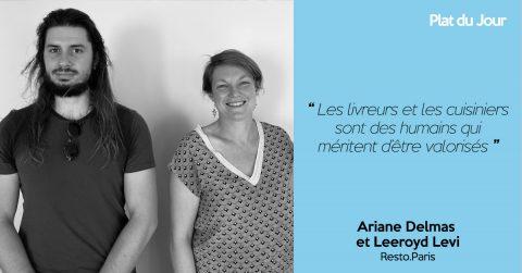 Ariane Delmas et Leeroyd Levi