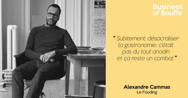 Alexandre Cammas - Fooding